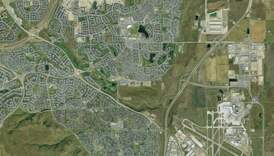 Country Hills Neighbourhood Satellite View