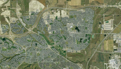 Panorama Hills Neighbourhood Satellite View