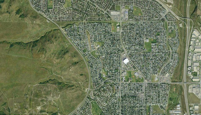 Huntington Hills satelite view