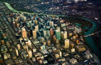 Calgary in the Air by Dhinakaran Gajavarathan