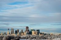 Frosty Calgary by Kenton Smith