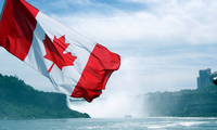 Canadian Flag by Kevin Timothy